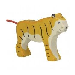 Holtztiger - Tigre Debout en Bois