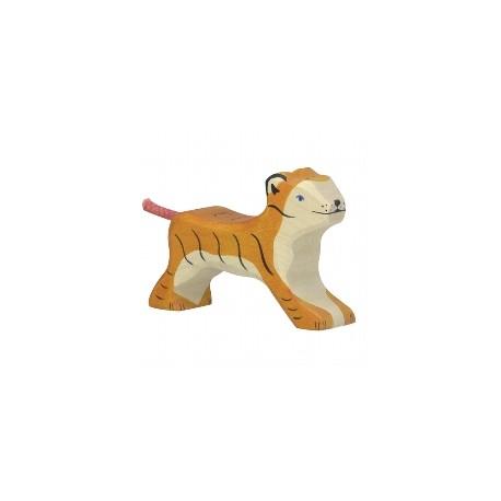Holtztiger - Petit Tigre Marchant en Bois