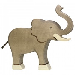 Holztiger - Eléphant Barrissant en Bois
