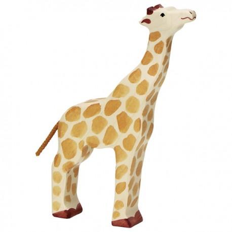 Holztiger - Girafe Tête Haute en Bois
