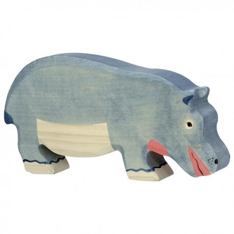 Holztiger - Hippopotame en Bois