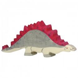 Holztiger - Wooden Stegosaurus