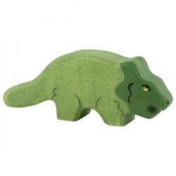 Holztiger - Protoceratops en Bois