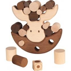 Jeu d'adresse en bois naturel - Modèle Elan - 4 ans