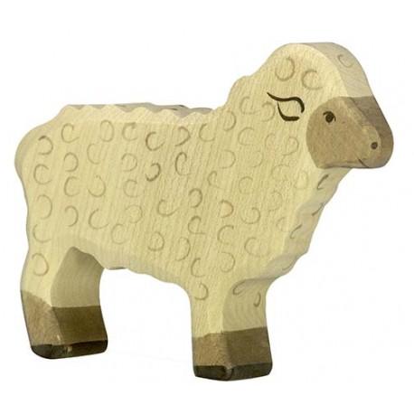 Holztiger - Mouton Debout en Bois