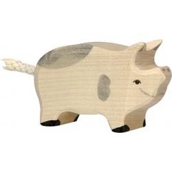 Holztiger - Porcelet Tacheté en Bois